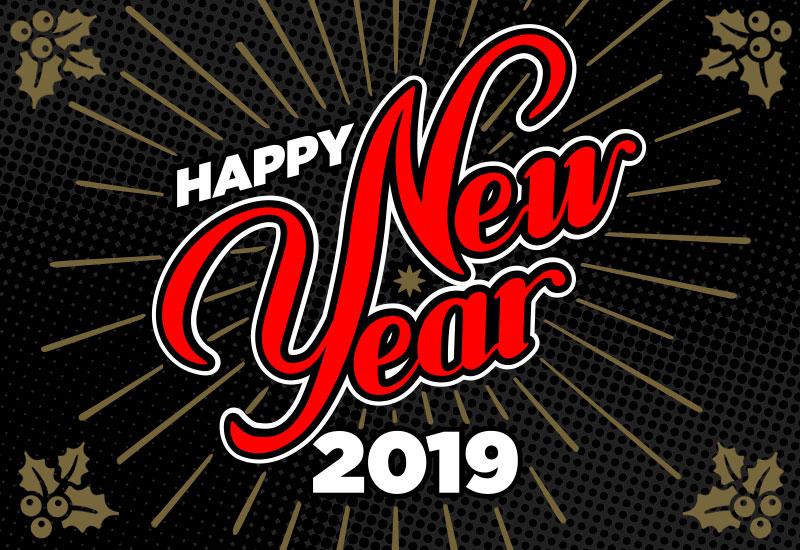 Opto Engineering - Happy New Year 2019
