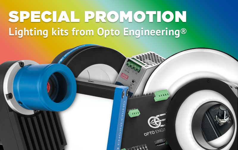 SPECIAL PROMOTION - Lighting kits from Opto Engineering