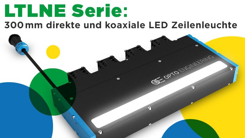 LTLNE Serie: 300mm direkte und koaxiale LED Zeilenleuchte