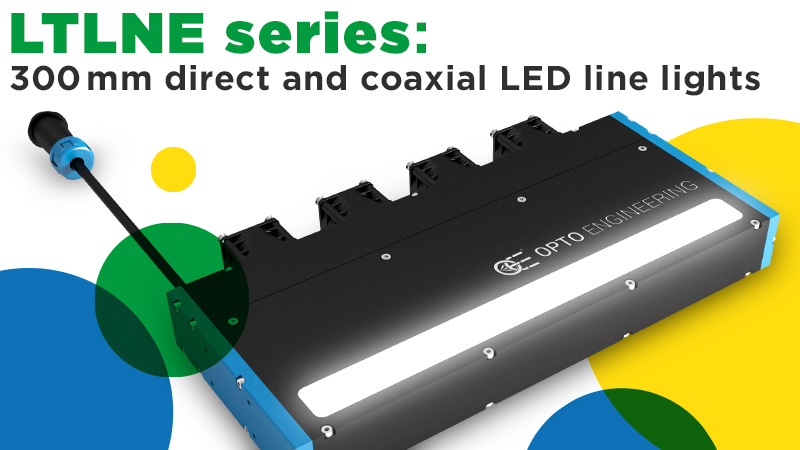 LTLNE series: 300 mm direct and coaxial LED line lights