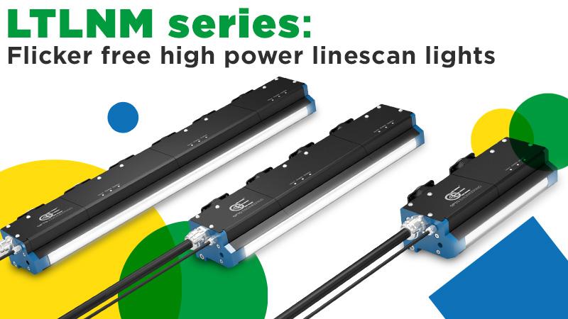 LTLNM series: Flicker free high power linescan lights