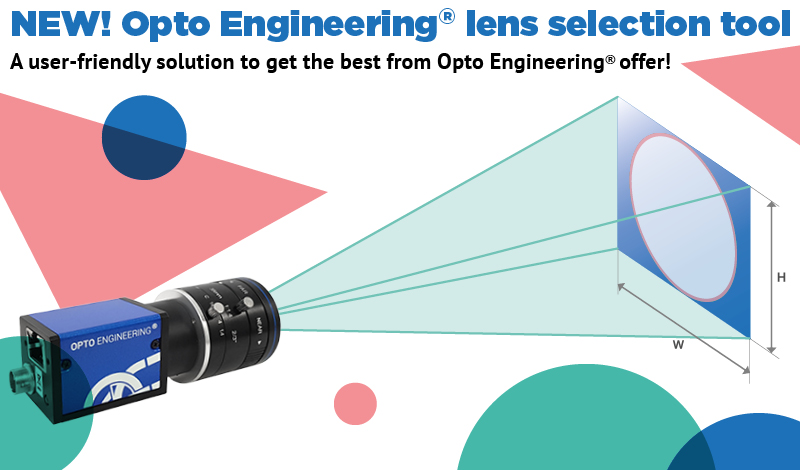 NEW! Opto Engineering Lens Selection Tool