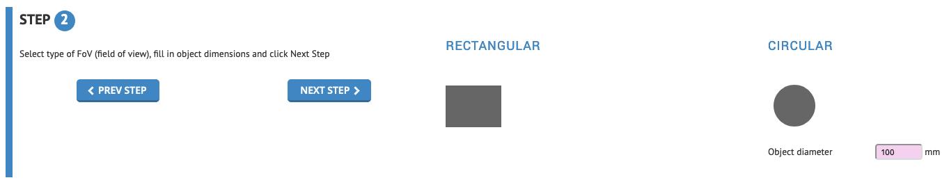 Strumento di selezione ottiche - Step 2