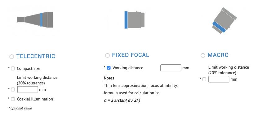 Strumento di selezione ottiche - Step 3