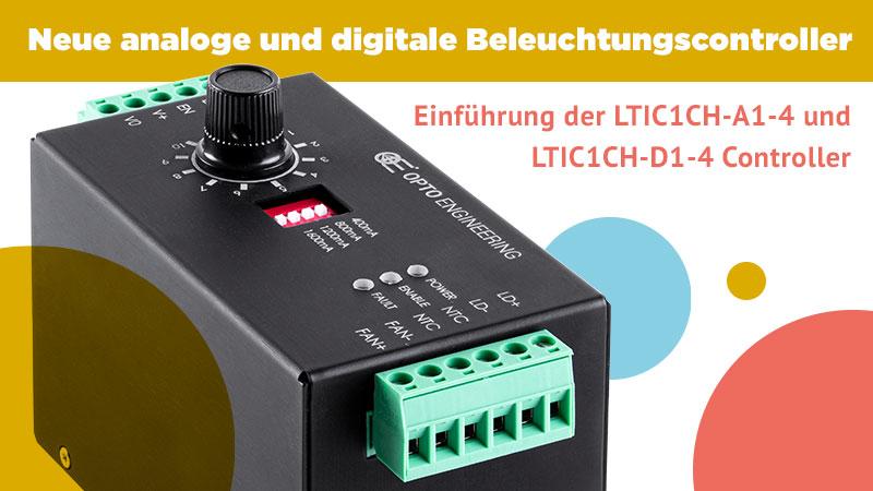 Neue analoge und digitale Beleuchtungscontroller