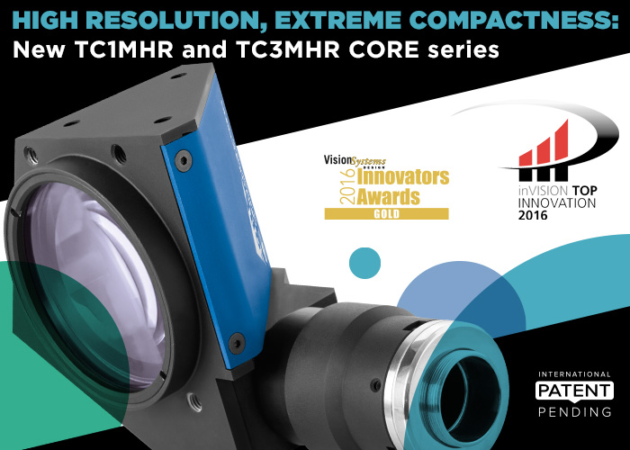 High resolution, extreme compactness: new TC1MHR and TC3MHR Core series