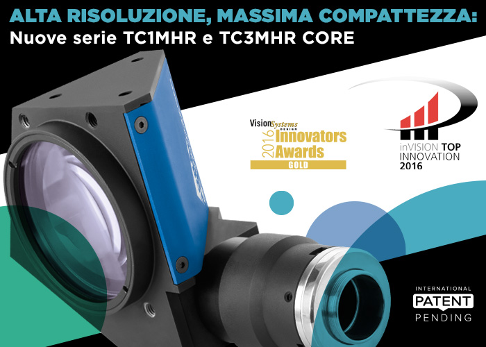 Alta risoluzione, massima compattezza: nuove serie TC1MHR e TC3MHR Core
