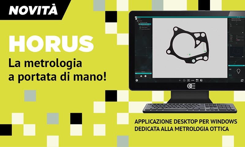 HORUS - Applicazione desktop per Windows dedicata alla metrologia ottica